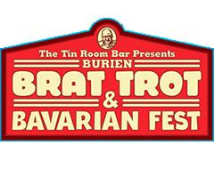 Burien Brat Trot Logo